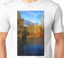 #47   Old factory With Reflection On Water Unisex T-Shirt