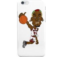 Dennis Rodman dunk iPhone Case/Skin