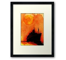 The Journey Would Prove To Be As Dangerous As The Destination Framed Print