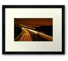Into the Night 2 Framed Print
