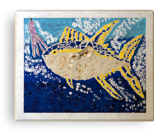 Fish On (After) Canvas Print