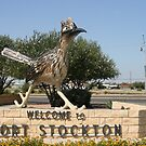 Chapparel Statue at Fort Stockton, Texas by Susan Russell