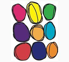 Bubbly Colors (Large) Unisex T-Shirt