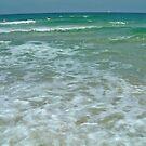 Mediterranean Sea Israel.. by Ilunia Felczer