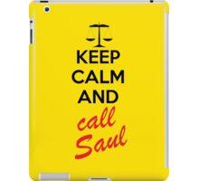 Keep Calm and Call Saul iPad Case/Skin