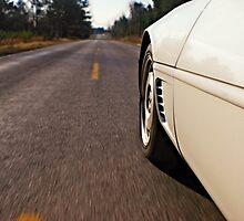 Country Drive - Corvette by Brett Wicker