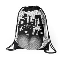 Shout out Loud Drawstring Bag