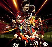 Messi  by Sam Noeninckx