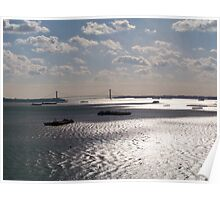The Hudson River Poster