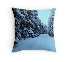 So Snowy Throw Pillow