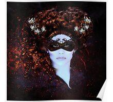 Masque- Masquerade Original Art Poster