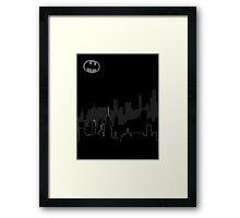 GothamCity Framed Print