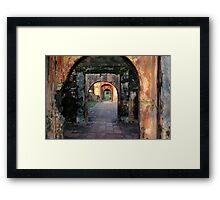 Hue Citadel Arch Framed Print