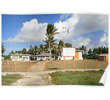 an unbelievable Tuvalu landscape Poster