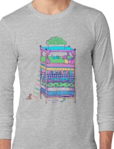 Queen Ermintrude's Patented Princess Testing Apparatus Long Sleeve T-Shirt
