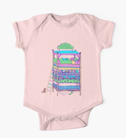 Queen Ermintrude's Patented Princess Testing Apparatus One Piece - Short Sleeve