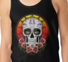 Sugar skull - Desert Rose  Tank Top