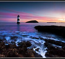 Penmon Point on a cold and frosty morn' by Shaun Whiteman