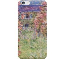 Monet - House Among the Roses iPhone Case/Skin