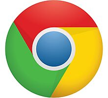 Google Chrome Photographic Print