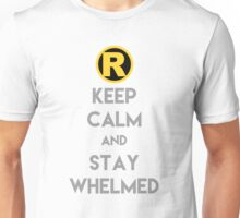 Keep Calm and Stay Whelmed Unisex T-Shirt