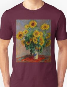 Monet - Sunflowers Unisex T-Shirt
