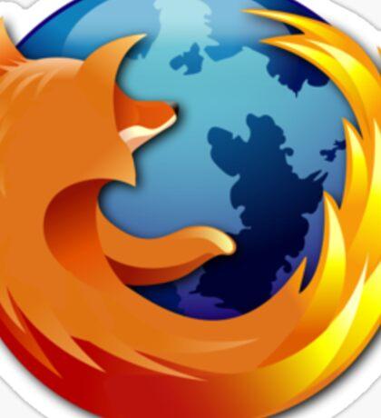 Firefox logo Sticker