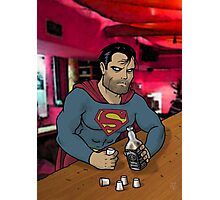 Bad Superman Photographic Print