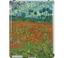 Van Gogh - Field of Poppies iPad Case/Skin