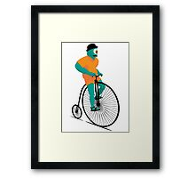 Bicyclops Framed Print