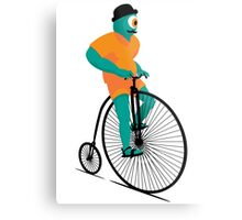 Bicyclops Metal Print