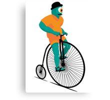 Bicyclops Canvas Print