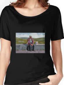 I wonder if the ol' girl misses me as much.. Women's Relaxed Fit T-Shirt
