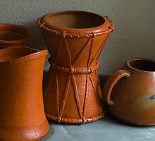 Shapes & Patterns in Earthen Pots. by Mukesh Srivastava