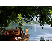 Boat #006 Photographic Print