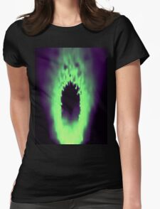 The Screaming Flame Womens Fitted T-Shirt