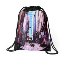 Hosier lane Drawstring Bag