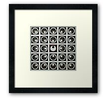 Realignment. mix Framed Print