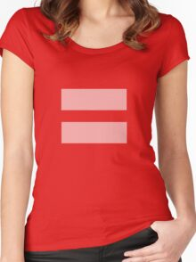 Equal Love Women's Fitted Scoop T-Shirt
