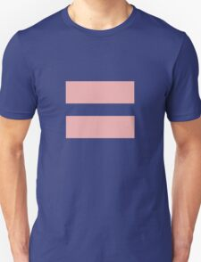 Equal Love Unisex T-Shirt