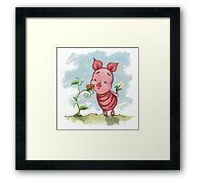 Winnie the Pooh - Baby Piglet Framed Print
