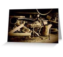 Dieselized Junk Greeting Card