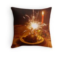 Happy New Year with friends Throw Pillow