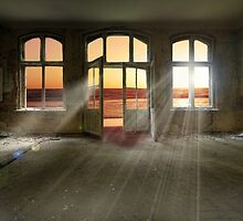 Then the light took over… by Nathalie Chaput