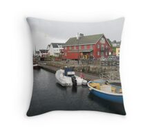 Hail in Lofoten Throw Pillow