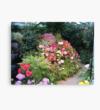 Butchart Gardens Greenhouse Canvas Print
