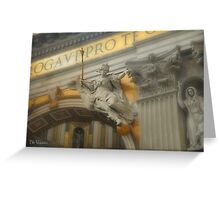 St Peter's Basilica - Rome, Italy Greeting Card