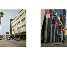 Wilshire Boulevard + Orange Grove Avenue, Museum Row, Los Angeles, California, USA...narrowed. by David Yoon