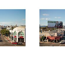 Westwood Boulevard + Pico Boulevard, West Los Angeles, California, USA...narrowed. by David Yoon