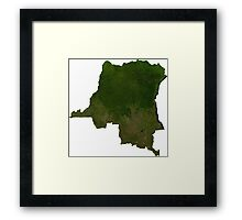 an awesome Central African Republic landscape Framed Print